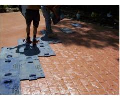 Штампы для декоративного(печатного) бетона!