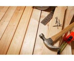 Работы плотника