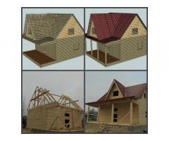 Дома деревянные, каркасно-щитовые