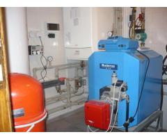 Монтаж систем отопления и резервного водоснабжения