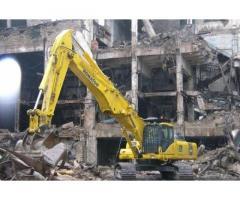 Демонтаж зданий и сооружений. Промышленный Демонтаж