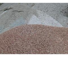Песок. Щебень. Тырса