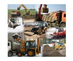 Вывоз грунта,разработка котлована в Алуште и юбк