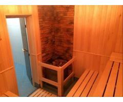Отделка деревом бань, саун, комнат отдыха