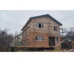 Утепление фасадов частных домов. Фасадные работы.
