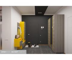 Дизайн-проект интерьера квартир под ключ