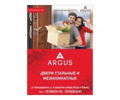 Стальные и межкомнатные двери от производителя ARGUS