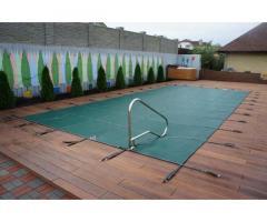 Зимние и всесезонные тенты для бассейнов.