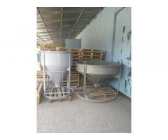 Бадья для бетона 1м3
