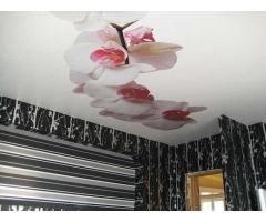 Натяжные потолки Крым штора