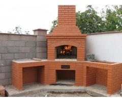 Строительство печей, каминов, комплексов барбекю